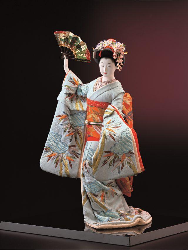 割しのぶ髷 京舞妓舞姿