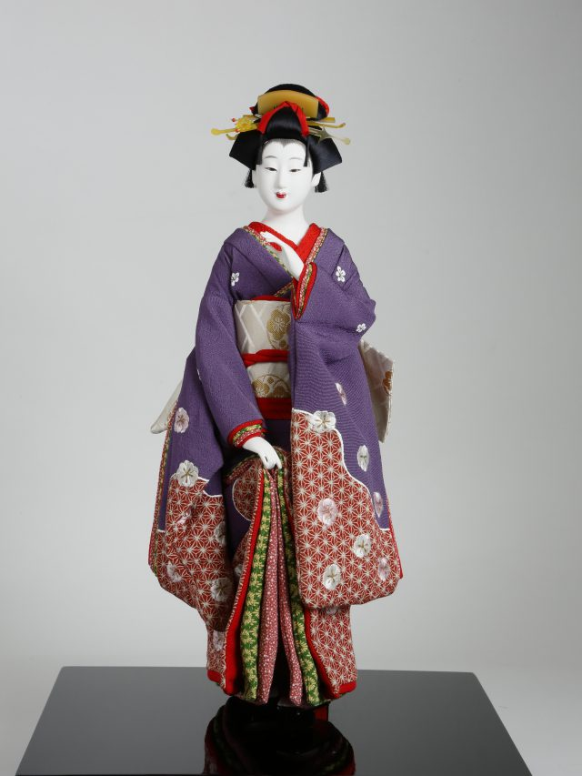 江戸中期の町娘